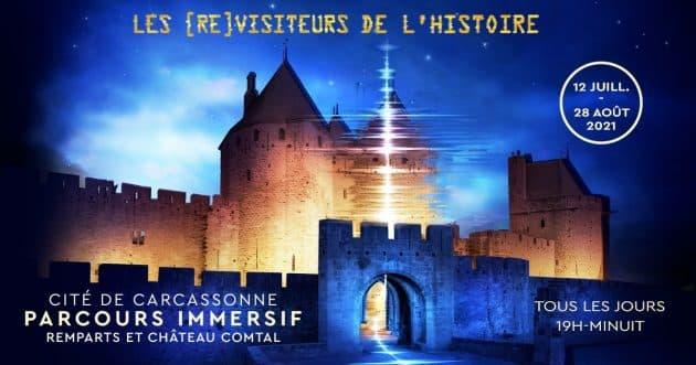 Les (Re)visiteurs de l'Histoire : une aventure immersive au cœur du Château comtal de Carcassonne