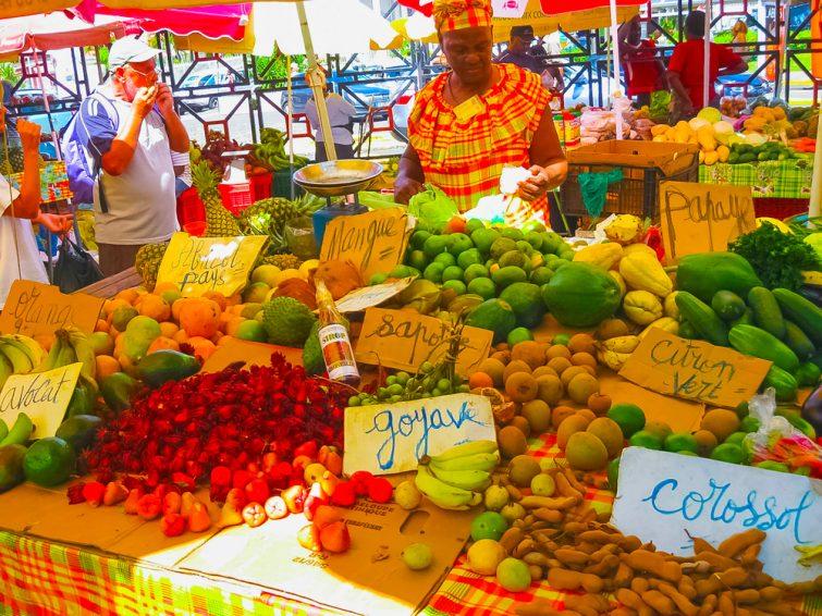 Les marchés - visiter Guadeloupe