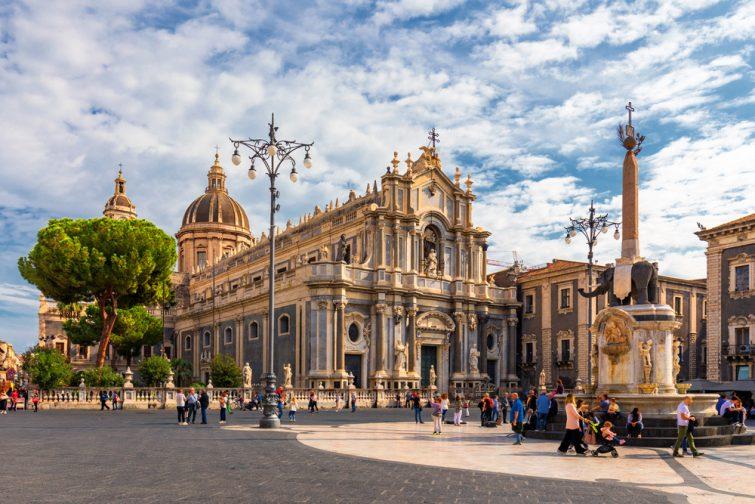 Piazza del Duomo - sortir à Catane