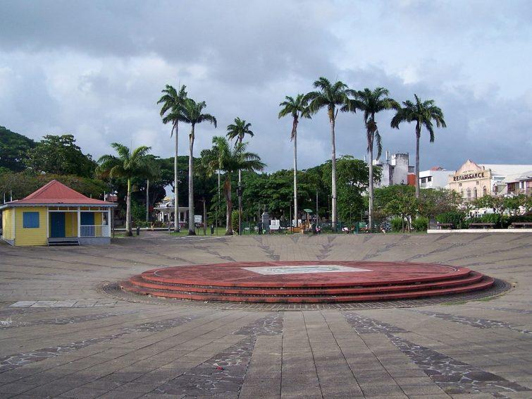 La Place de la Victoire - visiter Guadeloupe