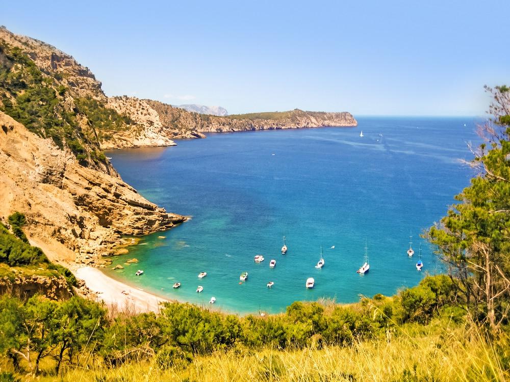 Playa des Coll Baix, confidentielle