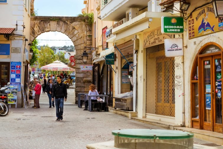 La porte Guora - visiter Réthymnon