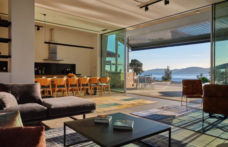 Sublime villa avec accès direct à la mer