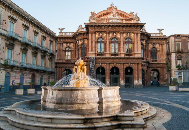 Teatro Massimo Bellini - sortir à Catane