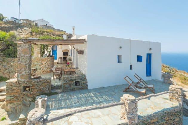 Villa Tradition Cycladique 4 Chambres-Vue Mer 100%