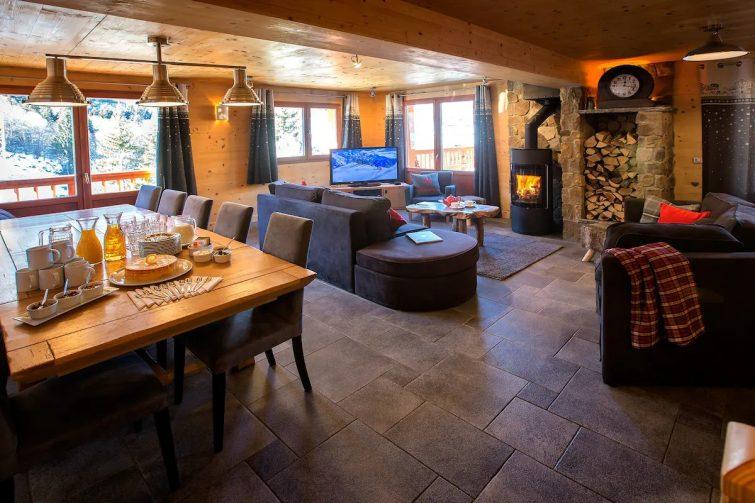 Airbnb à Meribel