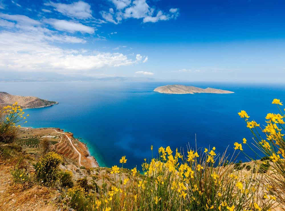 Balade bateau Crète : La baie d'Agios Nikolaos