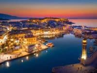 Balade bateau Crète : La Canée, Rethymno, le lac de Kournás