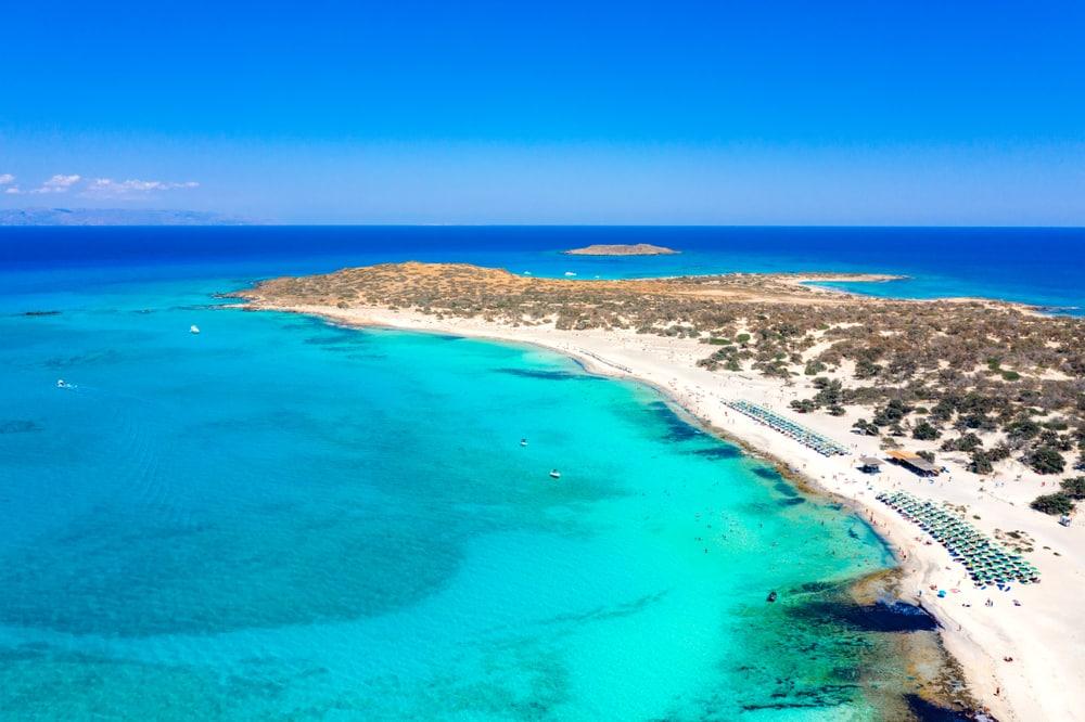 Balade bateau Crète : L'île de Chrissi