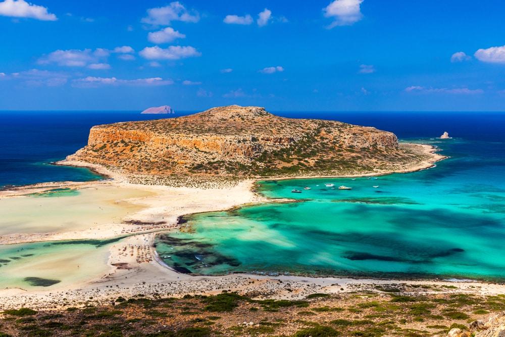 Balade bateau Crète : Gramvousa et Lagune de Balos