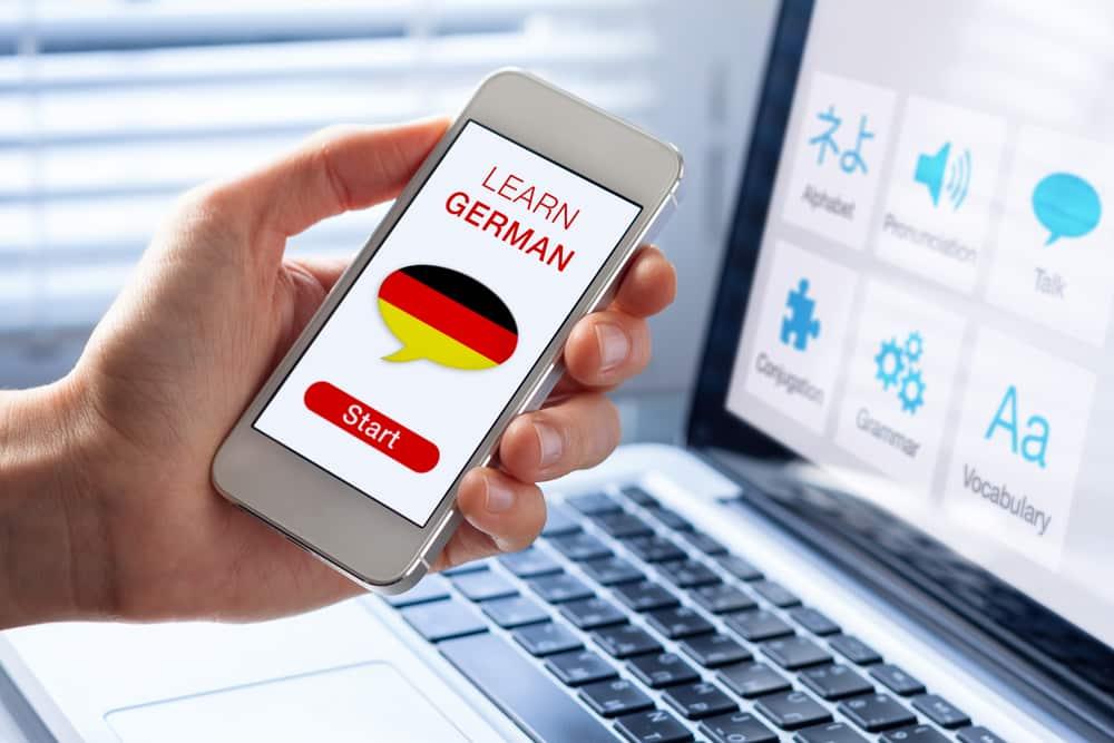 Apprendre l'allemand : Progresser grâce aux applications
