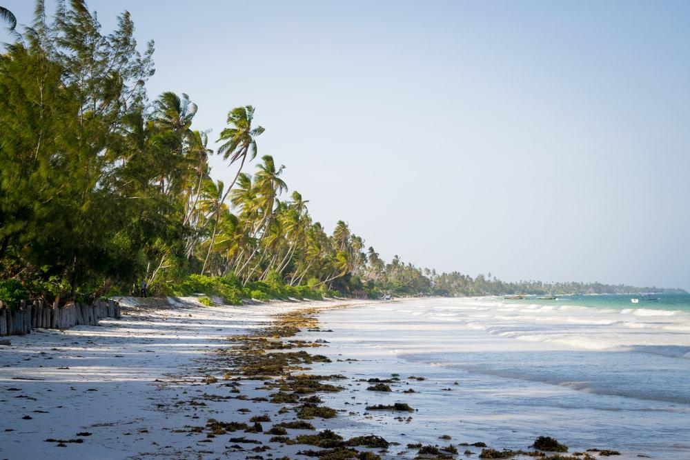 Bwejuu, plage isolée