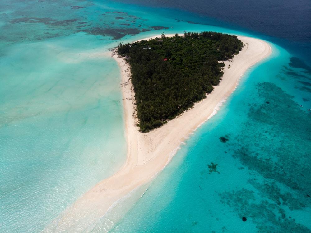L'atoll de Mnemba