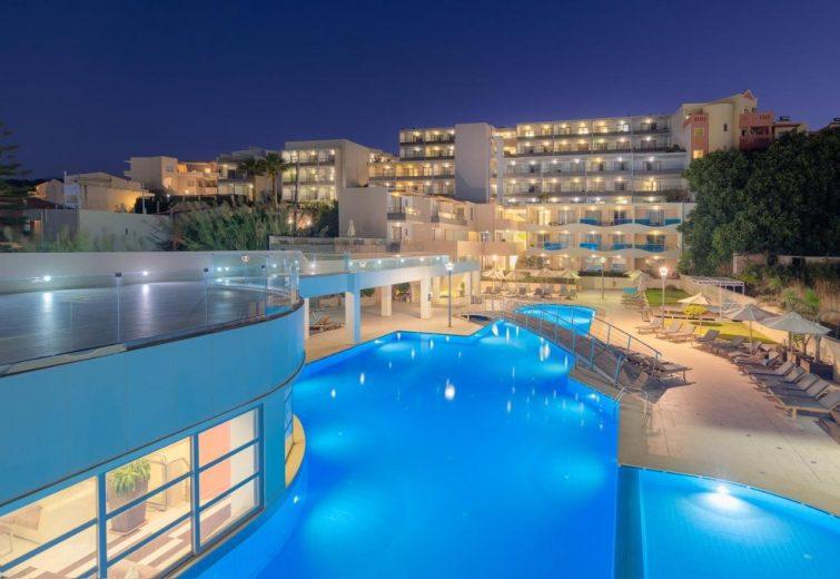 Hôtel avec piscine de Crète