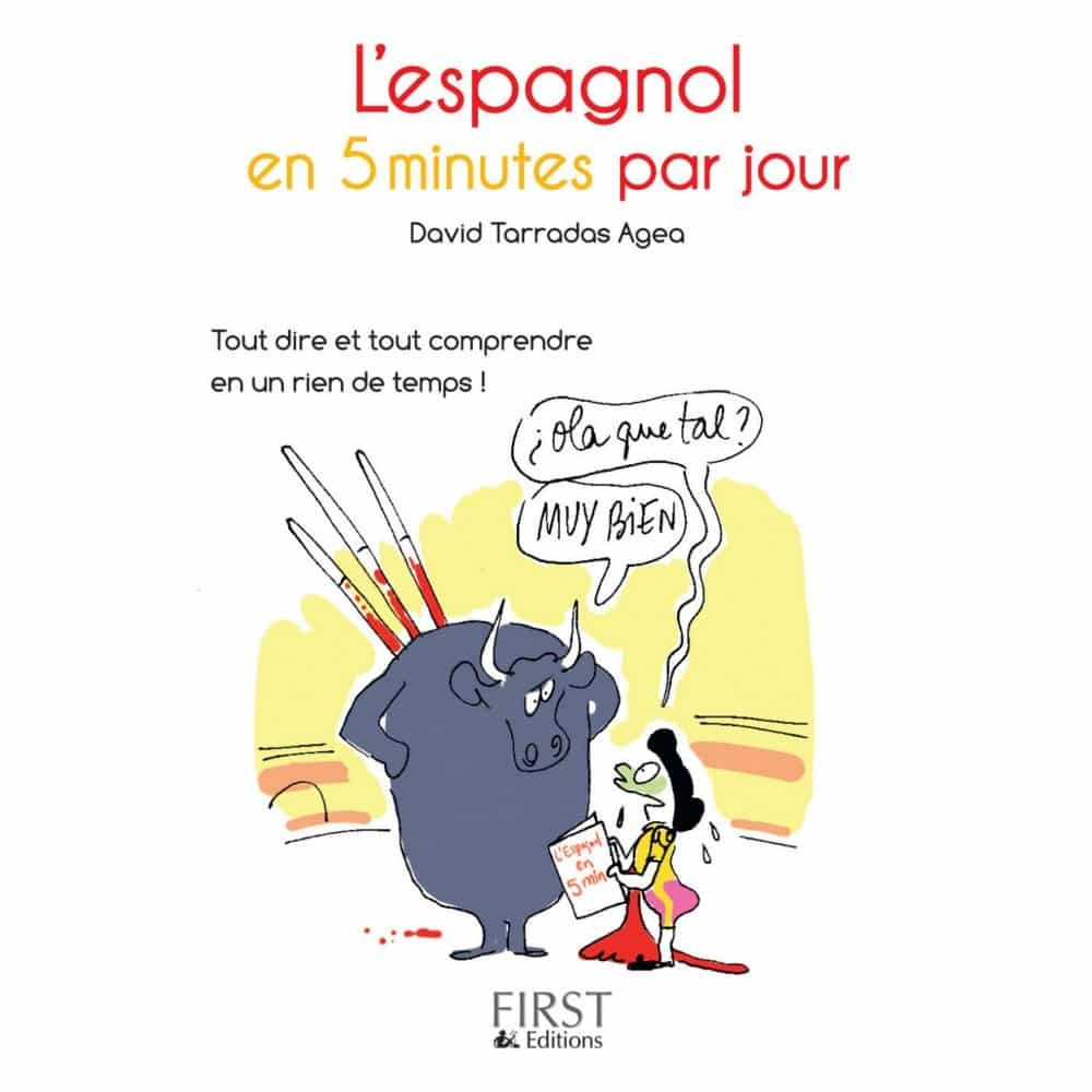 Livres pour apprendre l'espagnol : L'espagnol en 5 minutes par jour