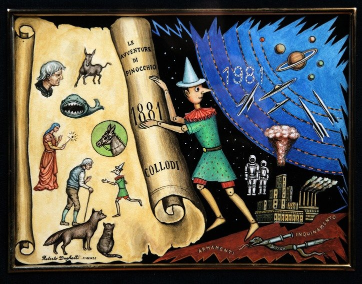 Livres apprendre italien : Le avventure di Pinocchio