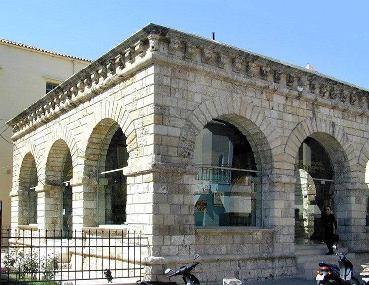 La loggia vénitienne - visiter Réthymnon