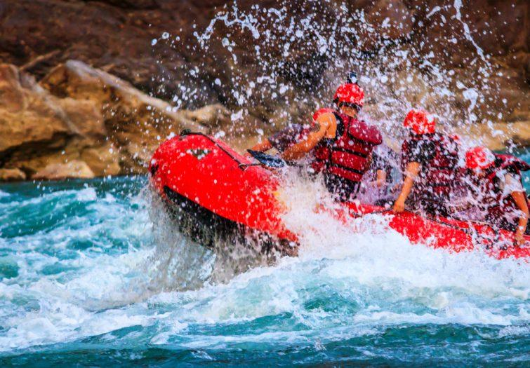 >La meilleure activité: descente en rafting de la rivière des Marsouins à La Réunion