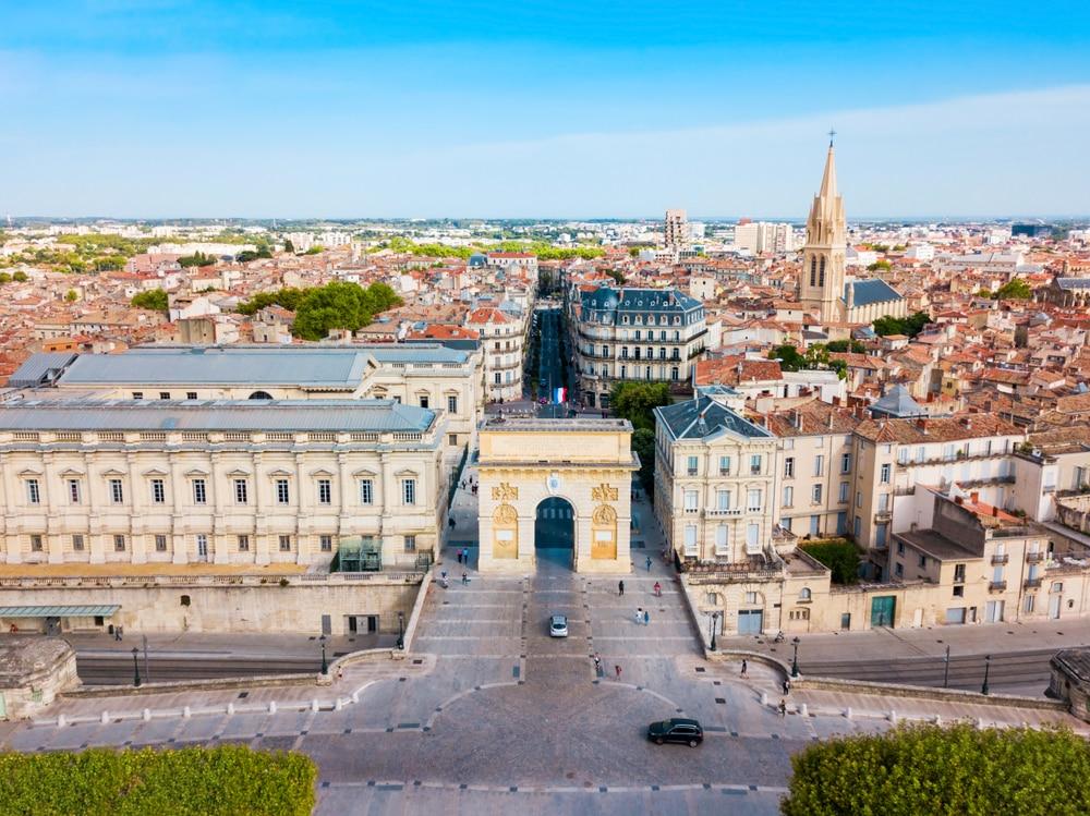 Des-Saintes-Maries-de-la-Mer à Montpellier
