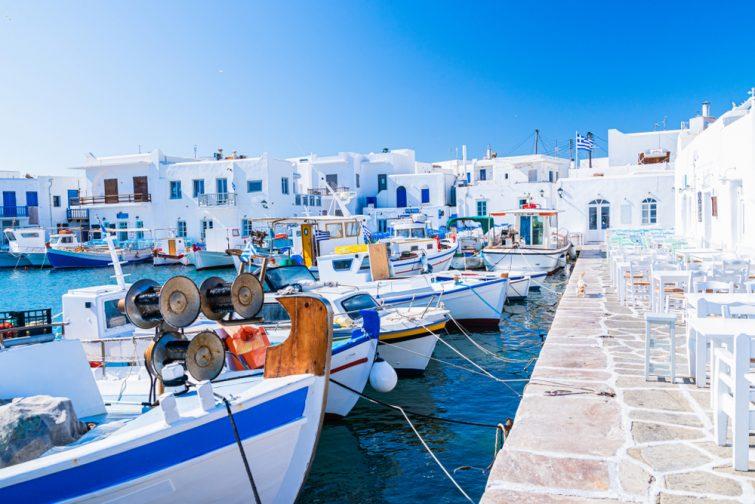 Naoussa à Paros