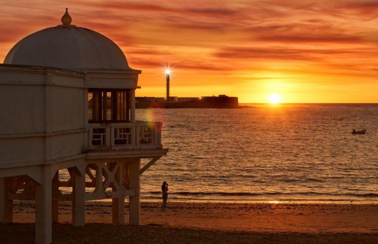 la caleta plage andalousie