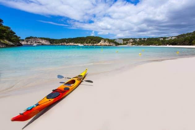Location de canoë-kayak à Minorque : comment faire et où ?
