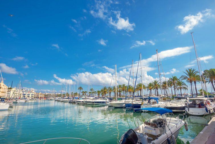 location bateau Malaga