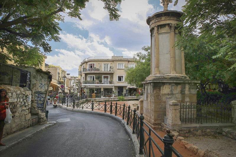 Sortir à Athènes : Pláka