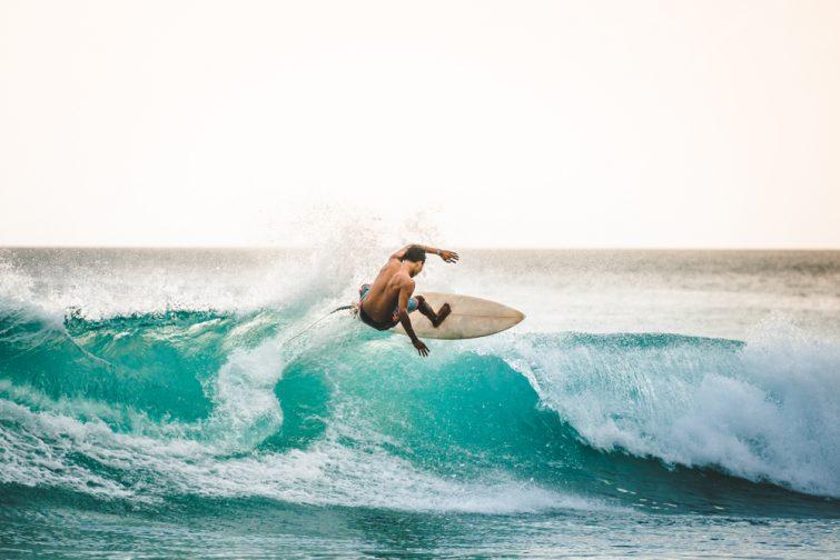 Cours de surf à El Medano