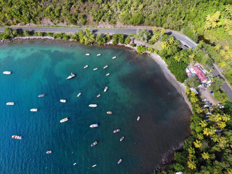Survoler l'île en hélicoptère