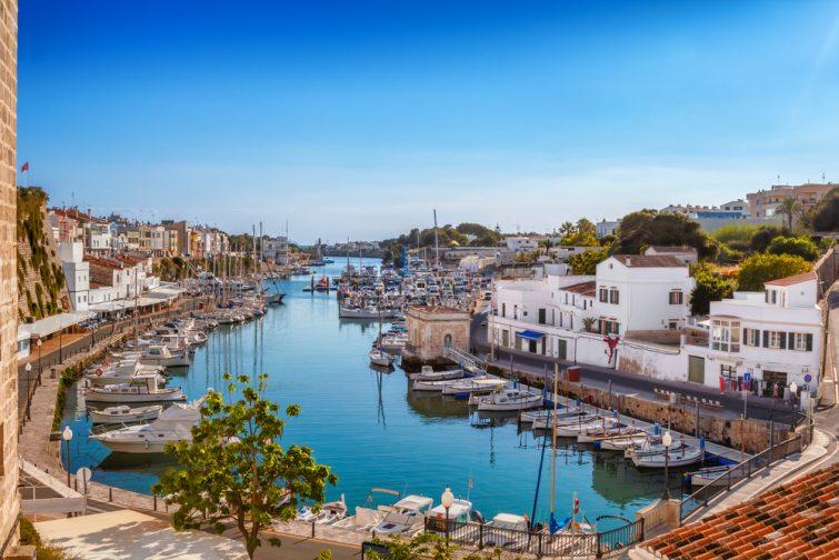 La ville de Ciutadella