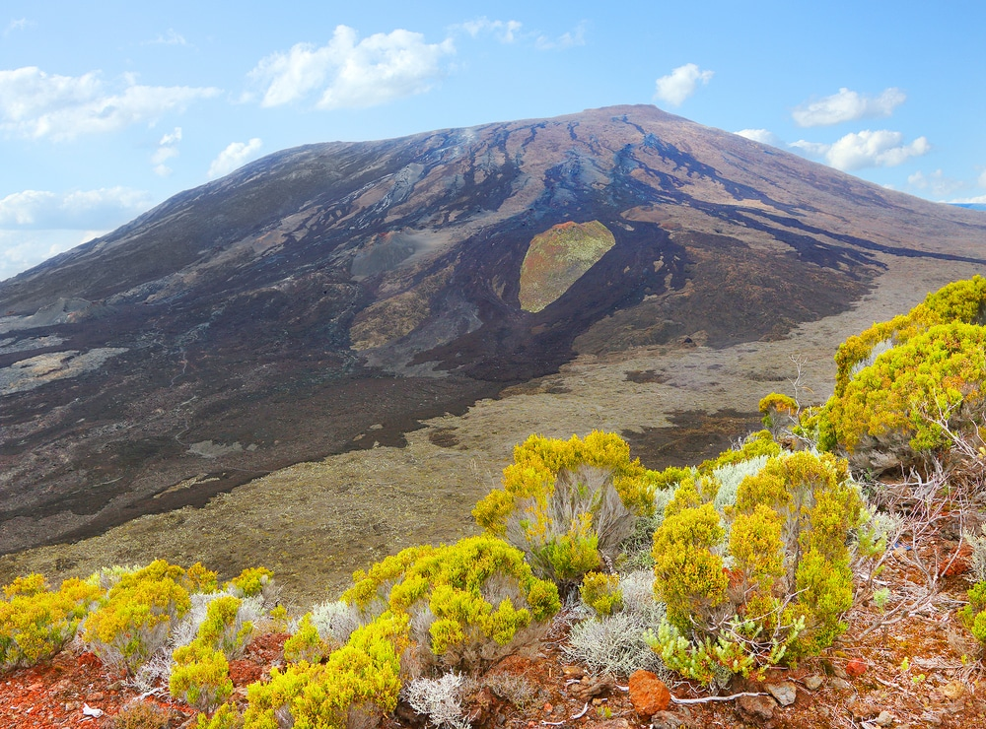 Le Piton de la Fournaise, histoire et géologie