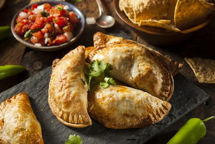 spécialités mexicaines : empanadas