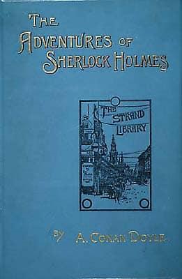 Livres pour apprendre l'anglais : The Adventures of Sherlock Holmes
