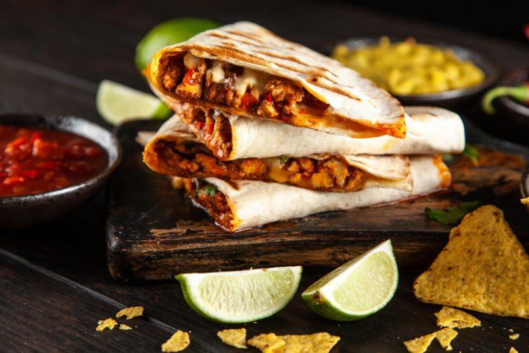 spécialités mexicaines : quesadillas