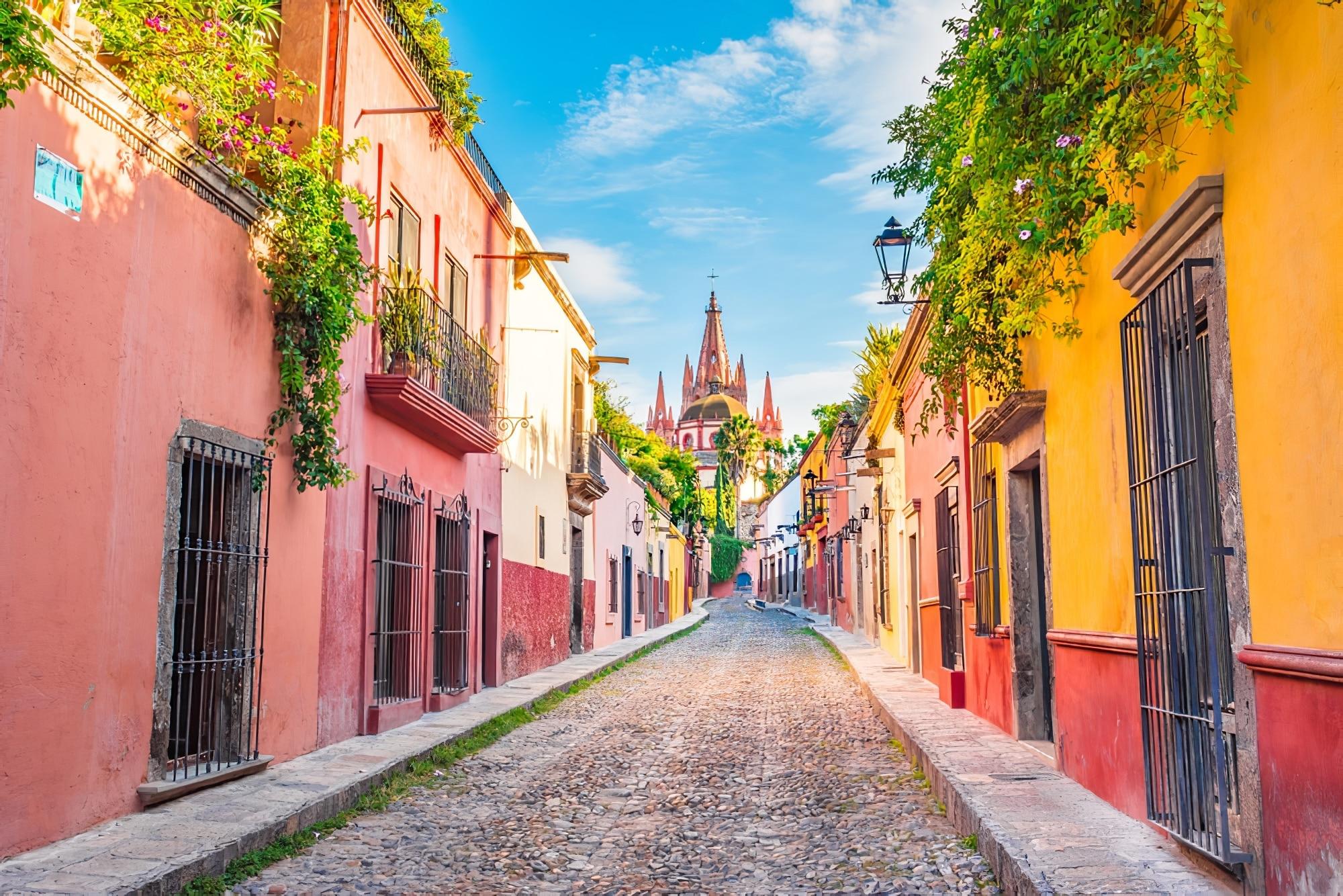 San Miguel de Allende à Guanajuato