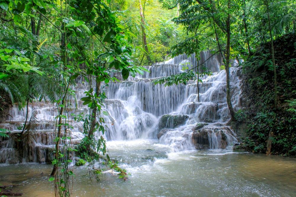 Cascade de Palenque - photos Mexique