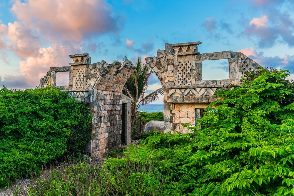 Le temple Ixchel à la plage Isla Mujeres
