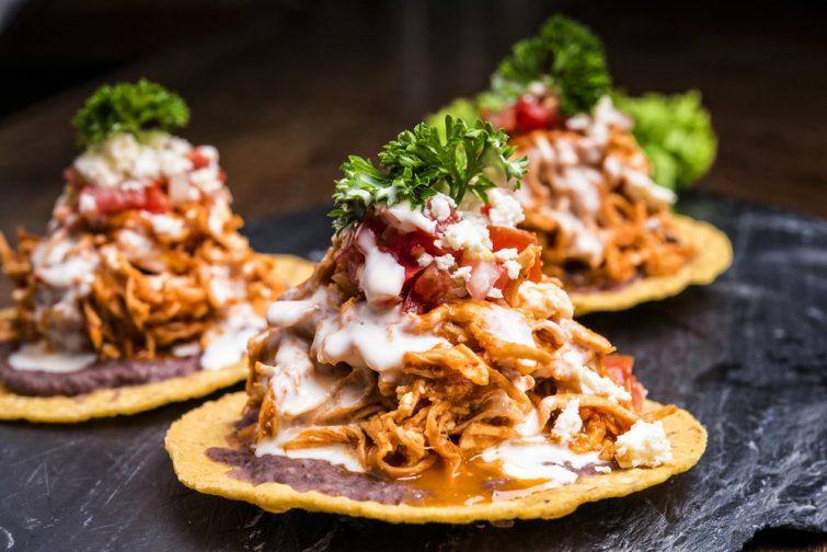 spécialités mexicaines : Tostadas