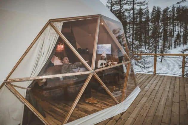 10 dômes où dormir sous un ciel étoilé