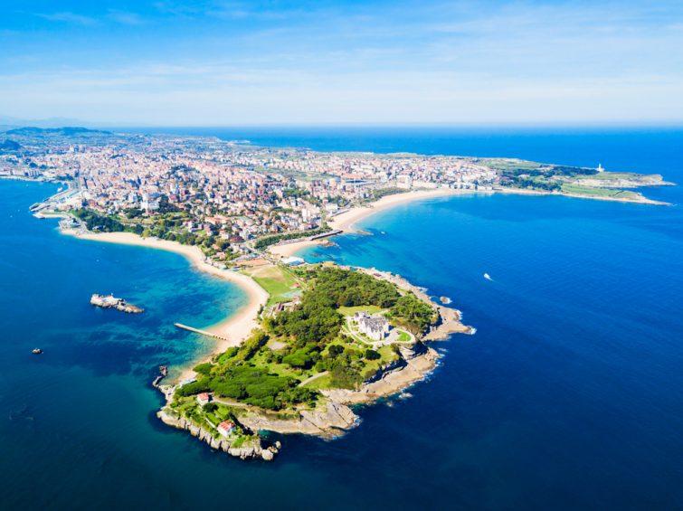 La baie de Santander