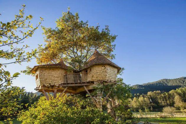 On a trouvé les cabanes dans les arbres les plus cool d'Airbnb