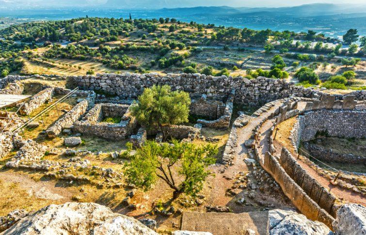 La cité antique de Mycènes