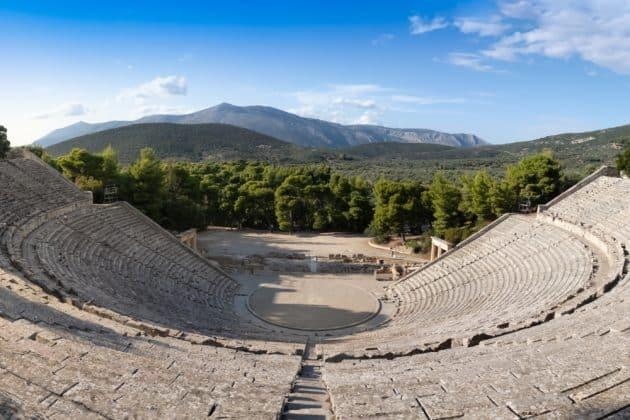 Le site antique d'Épidaure