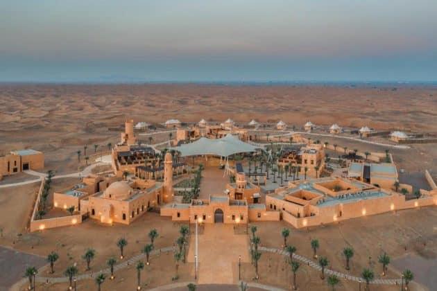 Les 7 meilleurs hôtels dans le désert de Dubaï