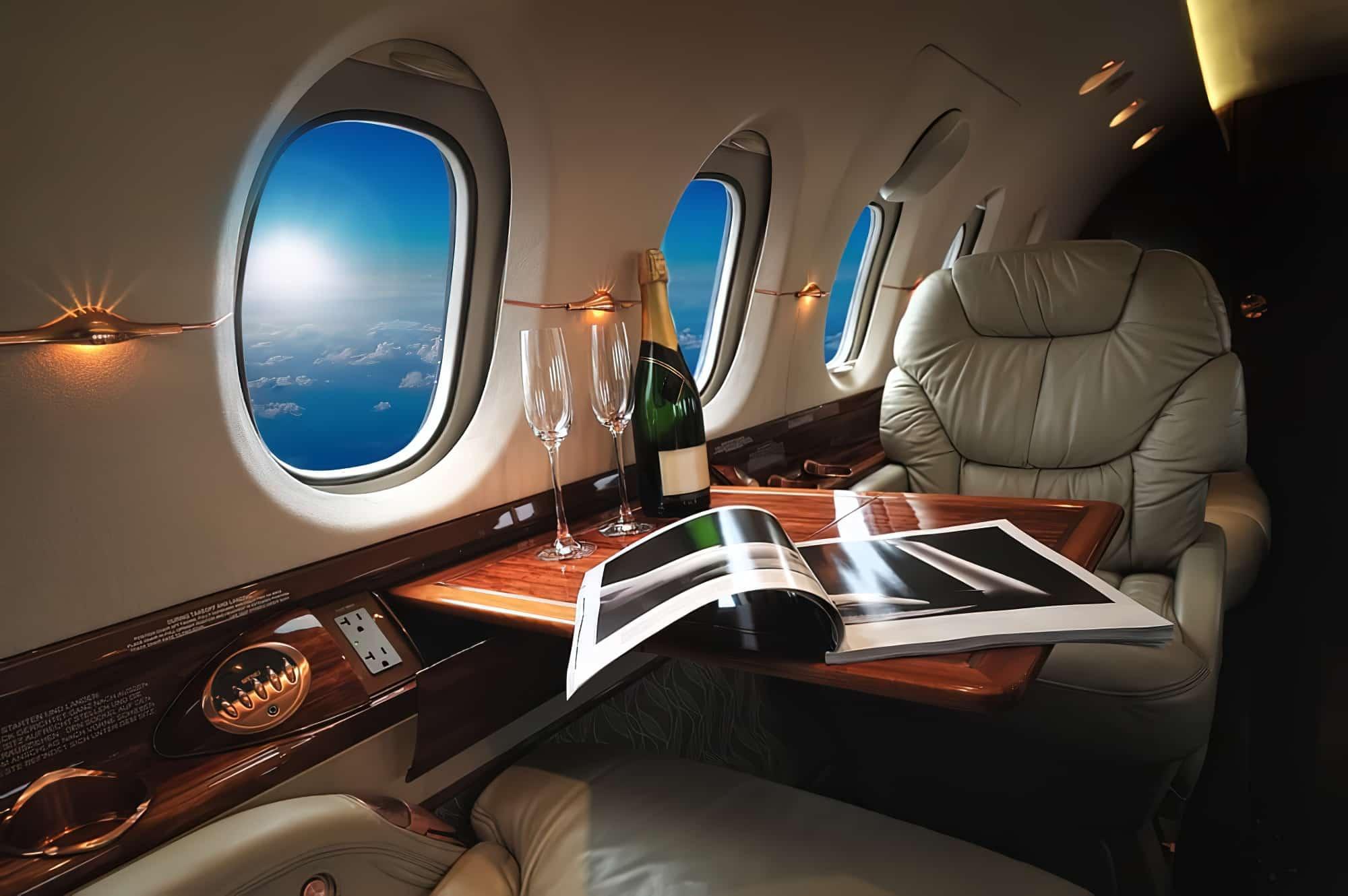 Jet privé - voyage de luxe