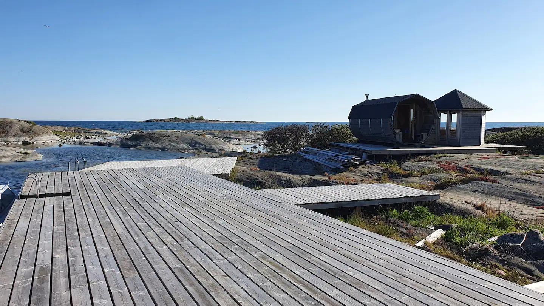Chalet au calme à Åland
