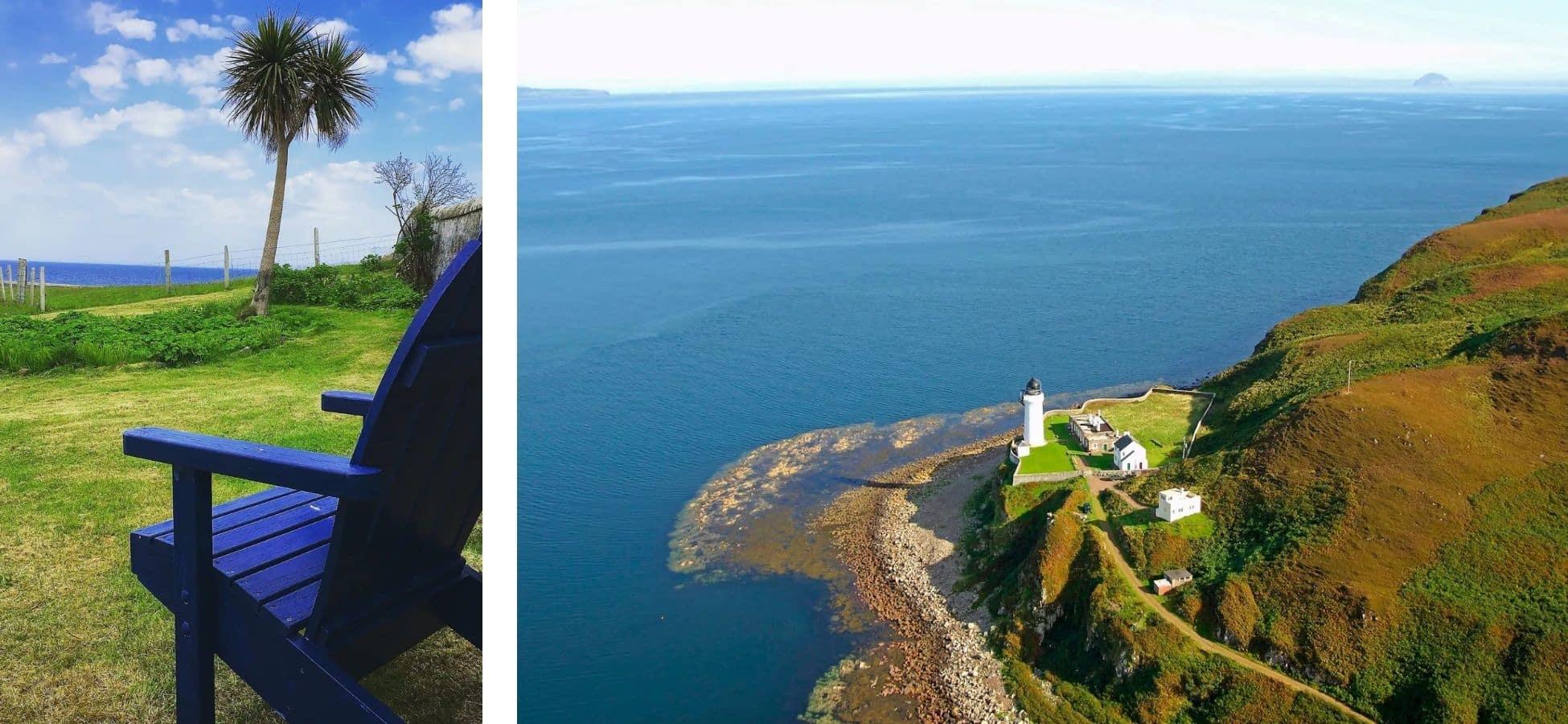 Joli îlot écossais