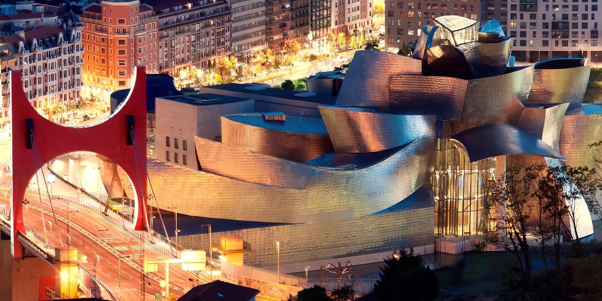Le Guggenheim à Bilbao