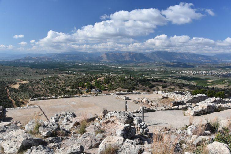 Le palais royal de Mycènes